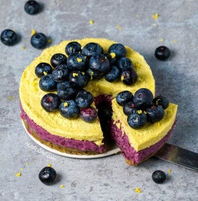 Blueberry Lemon Cake - Nutriholist