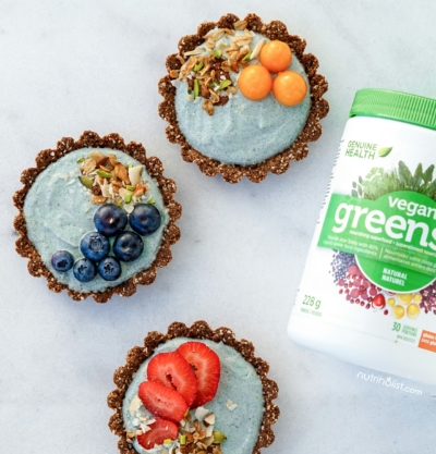 Superfood Yogurt Granola Tarts - Nutriholist