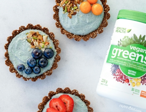 Superfood Yogurt Granola Mini Tarts (V,GF)