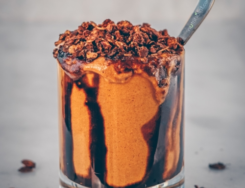 Gingerbread Molasses Smoothie (Vegan)